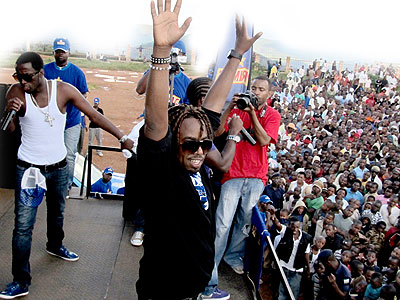 Urban Boys performing during a recent show in Rwanda. The New Times/File photo