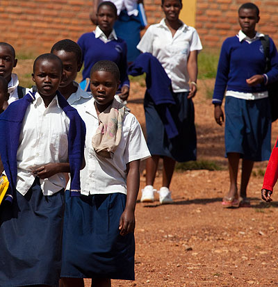 Once the policy is implemented, it will go a long way in empowering the students most especially the girls to achieve their full potential. /Timothy Kisambira