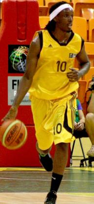 Hamza Ruhezamihigo was part of the national team that finished 10th at the 2013 Fiba Afrobasket Championships in Ivory Coast. File