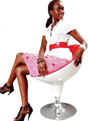 Mbabazi wears her own designs. Courtesy photo