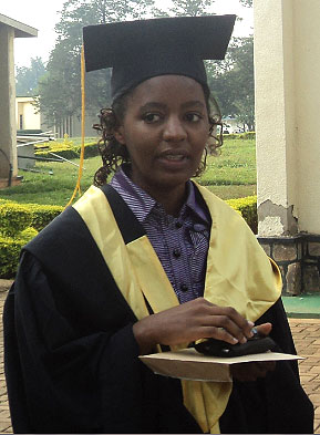 Namukobwa dreams of becoming the best engineer in the country. (Susan Babijja)