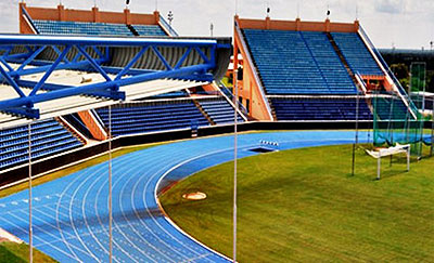 The National Stadium in Gaborone will host the opening ceremony of the 2014 African Youth Games today. Courtesy