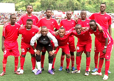 Rubavu-based Etincelles FC are representing Rwanda in the first edition of the Cecafa-Nile Basin Cup. File