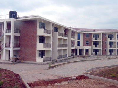 The students hostel at Rukara College of Education has been completed. (Seraphine Habimana)