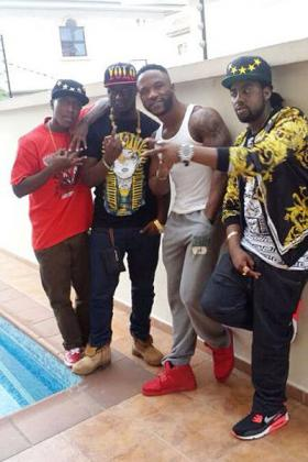 Urbans Boys in Nigeria with Iyanya (c)