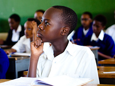 A student may not concentrate in class if his boyfriend or girlfriend is unwell. PHOTO BY TIMOTHY KISAMBIRA