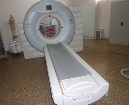 The faulty CT scan at CHUK. Courtesy.
