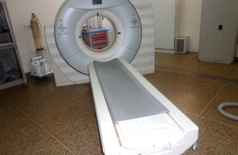 The faulty CT scan at CHUK. (Courtesy)