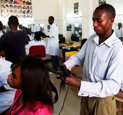 Women should try to stick to one good hairdresser as that will ensure better service and results.  The New Times/ T. Kisambira