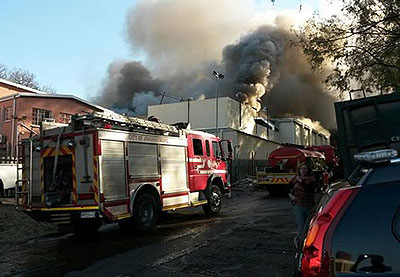 BBA houses on fire (Net photo)