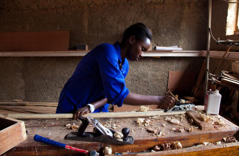 Girls are encouraged to pursue TVET education. (File Photo)