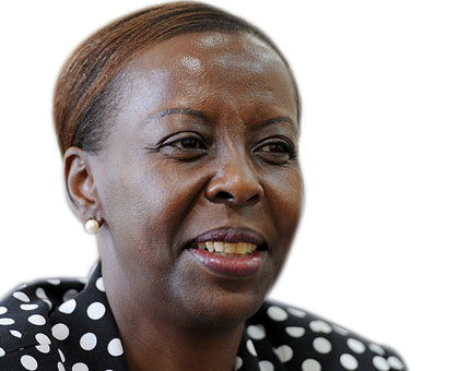 Foreign Affairs minister, Louise Mushikiwabo.File photo