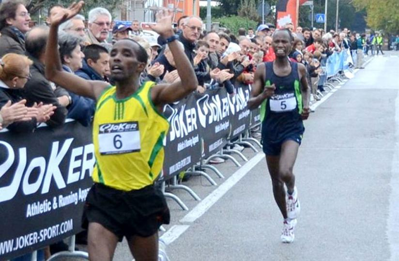 Sebahire returns to Tanzania for a second competition in a space of one month after his participation in the regional military games. (Courtesy)