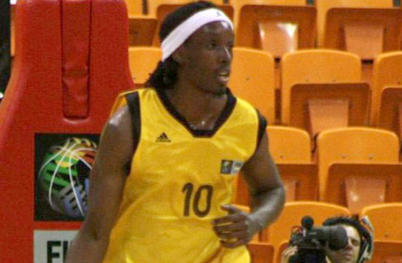 Ruhezamihigo has been dropped due to his excessive wage demands, according to local basketball federation officials.  (File photo)