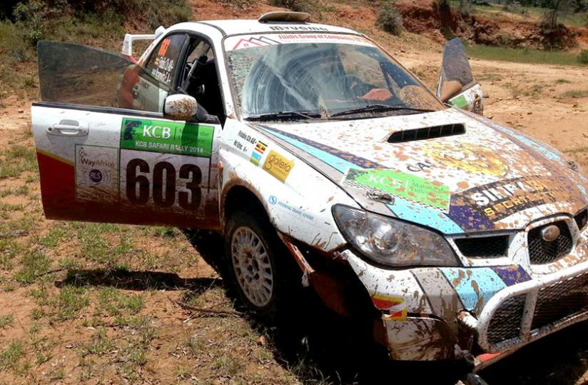 Fitidis and Nzamwita bowed out of the Kenya Safari Rally on the second day on Saturday. (Courtesy photo)
