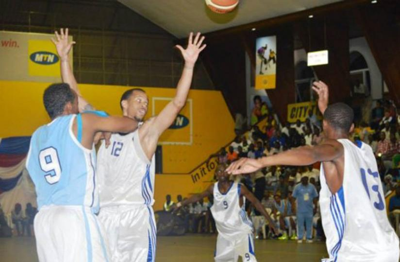 Kenneth Gasana (C) played a big role in the previous game against Somalia which Rwanda won 85-71 on Wednesday.