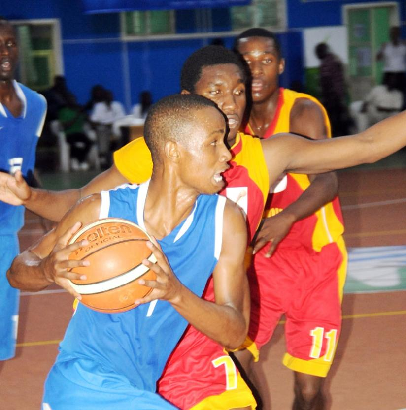 Hakizimana in action during the U-18 Afrobasket finals held in Kigali in 2010. He played his second Zone V tourney for the senior team in Kampala. (File)