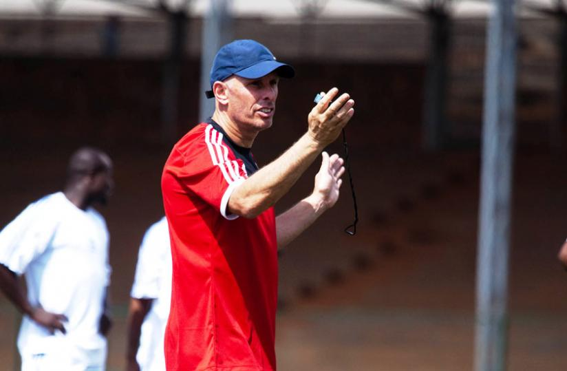 Amavubi coach Stephen Constantine attended the two-day seminar in Cairo. (Timothy Kisambira)