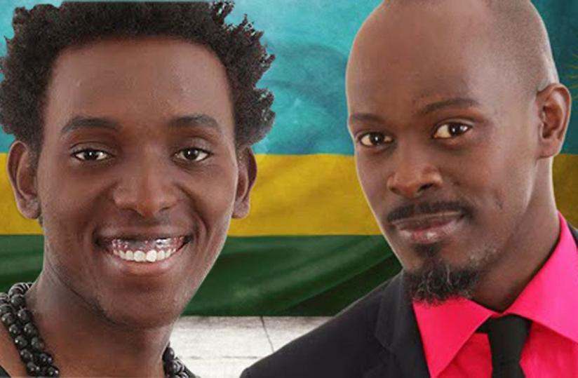 Survived: Rwanda's Arthur (L) and Frankie steered clear of any trouble