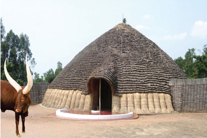 A replica of the royal palace. (David Nkusi)