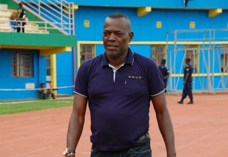 Sacked: Andy Mfutila has been let go by Rayon Sports after less than three months in charge.