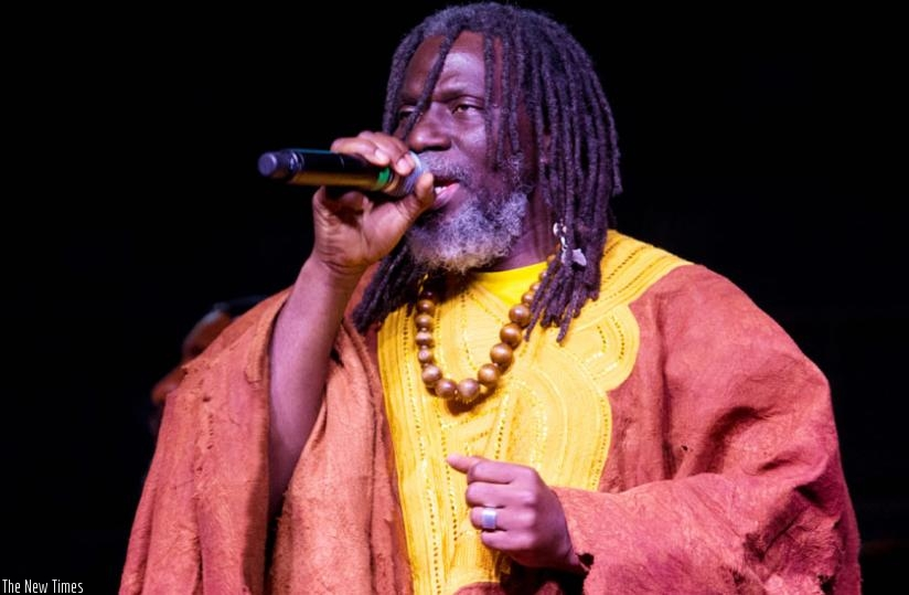 Ivorian star Tiken Jah Fakoly left reggae music fans yearning for more. (T. Kisambira)