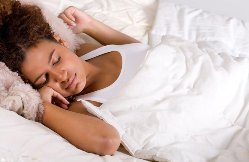An adult should sleep for 7 or 8 hours daily.(Net photo)