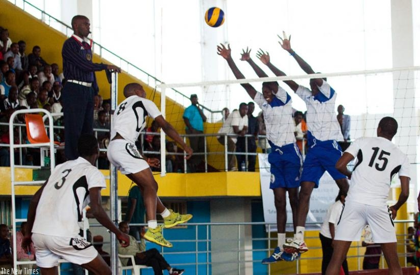 APR takes on Inatek in a volleyball league game. The Volleyball Federation is trying to secure sponsorship for the league as well as other competitions. (File)