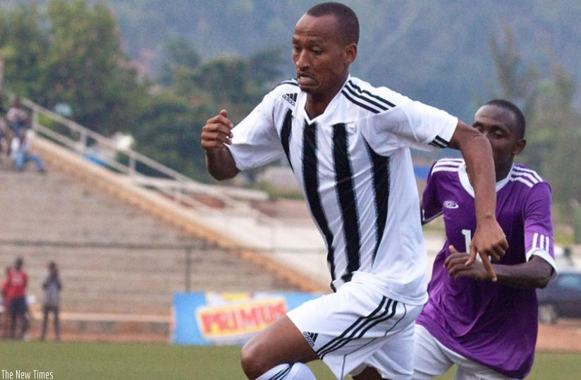 Amavubi midfielder, Ngomirakiza has signs two-year deal for Police FC and will earn Rwf5m a year. (File)