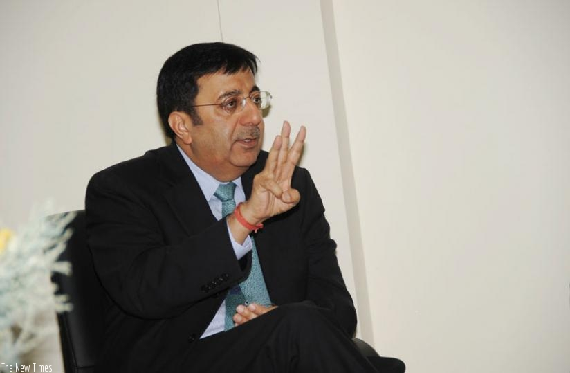 Anand in an earlier interview. The seasoned banker will be leaving I&M Bank in three months.