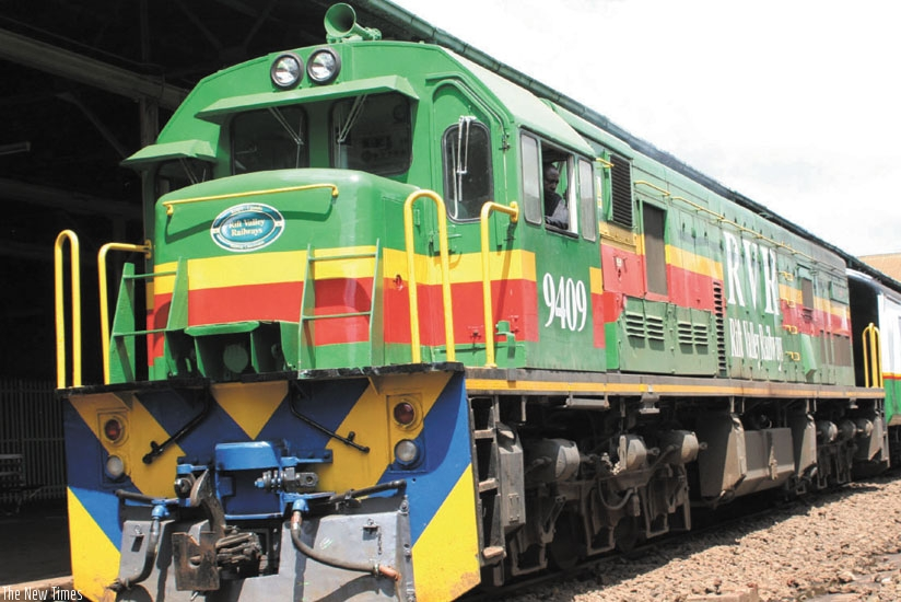 An RVR train. The Northern Corridor countries are planning to set up a railway line to connect their three capitals. However, no local firm has the capital to undertake or supply some of the materials to such a venture. (File)