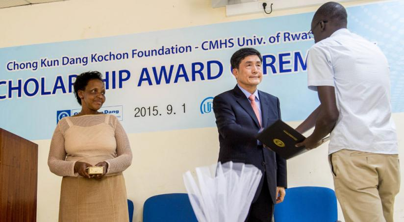 University of Rwanda students win Korean Foundation