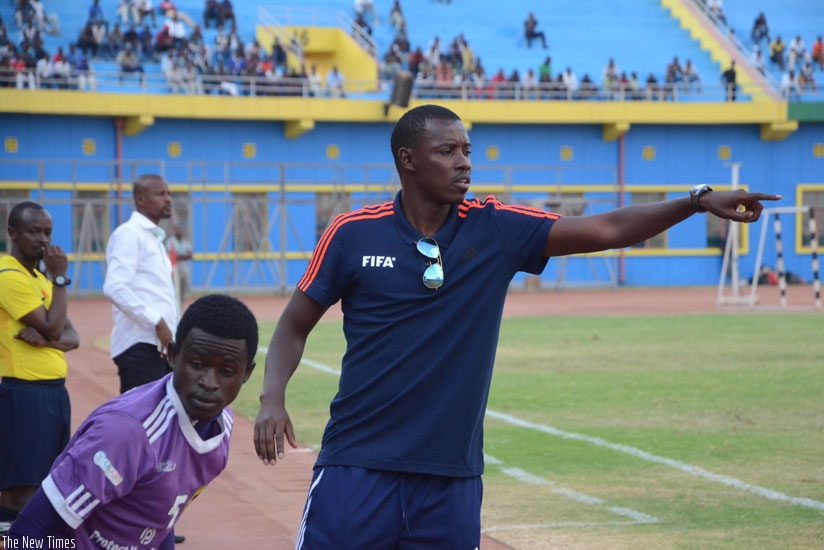 Mulisa will take charge of his last game as Sunrise FC coach following his appointment as FERWAFA's assistant technical director. (Courtesy)