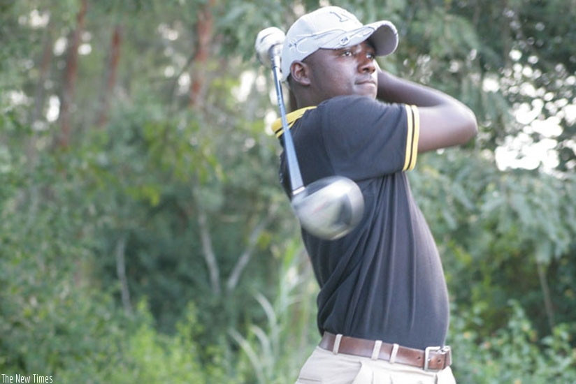 Hakizimana is keen to repeat his 2014 heroics as he bids to win his third Rwanda Open title. (File photo)
