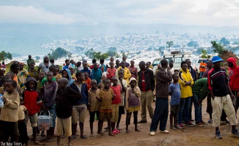 Some of the Burundian children at Mahama refugee camp. More children in urban centres are being inducted. (File)