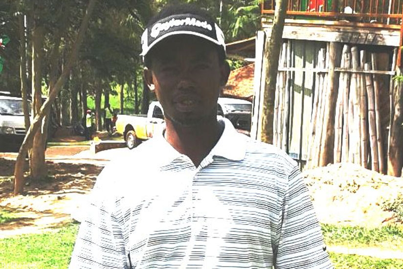 The EA Challenge was the last competition for Jules Mutesa (above) as an amateur golfer. (Courtesy)