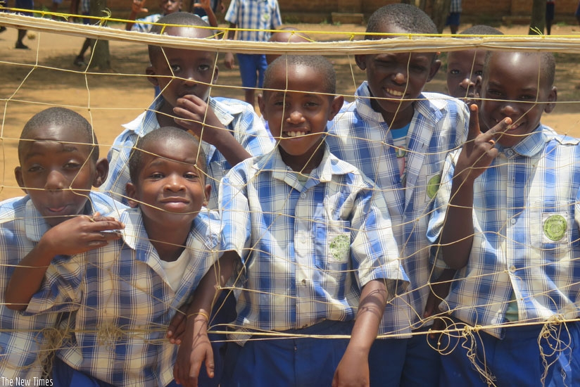 Equal participation in all school activities should be encouraged at an early age to give girls more confidence. (Solomon Asaba)