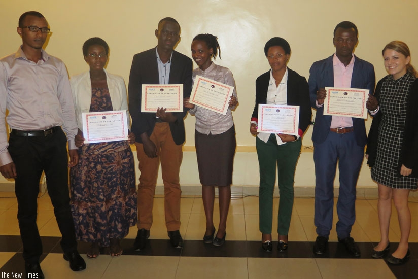 Young entrepreneurs have been encouraged to work hard to achieve their dreams . (Solomon Asaba)