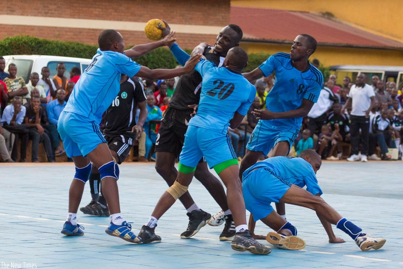 Reigning league champions Police HC defeated local rivals APR in the final rond-robin match on Friday. (Timothy Kisambira)