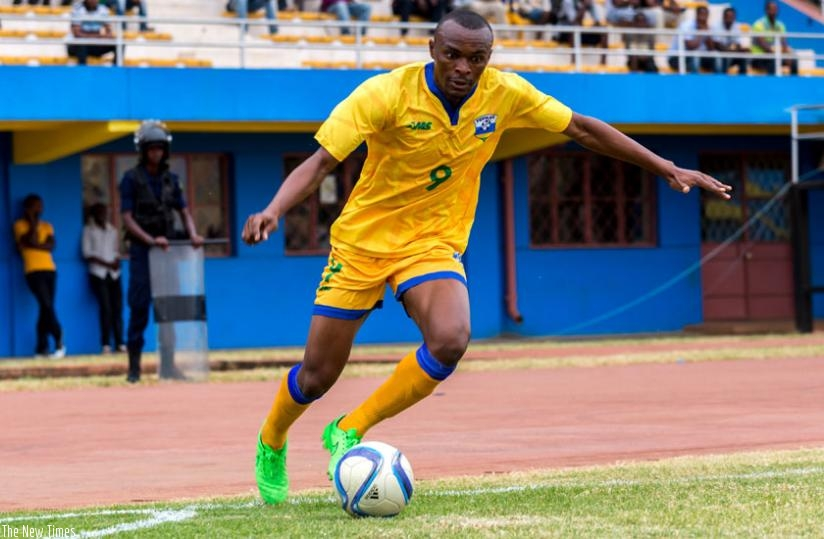 Amavubi striker Jaques Tuyisenge has urged strikers in the national team to get sharper as CHAN nears. (T. Kisambira)