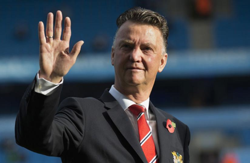 Man United coach Louis van Gaal. (Net photo)
