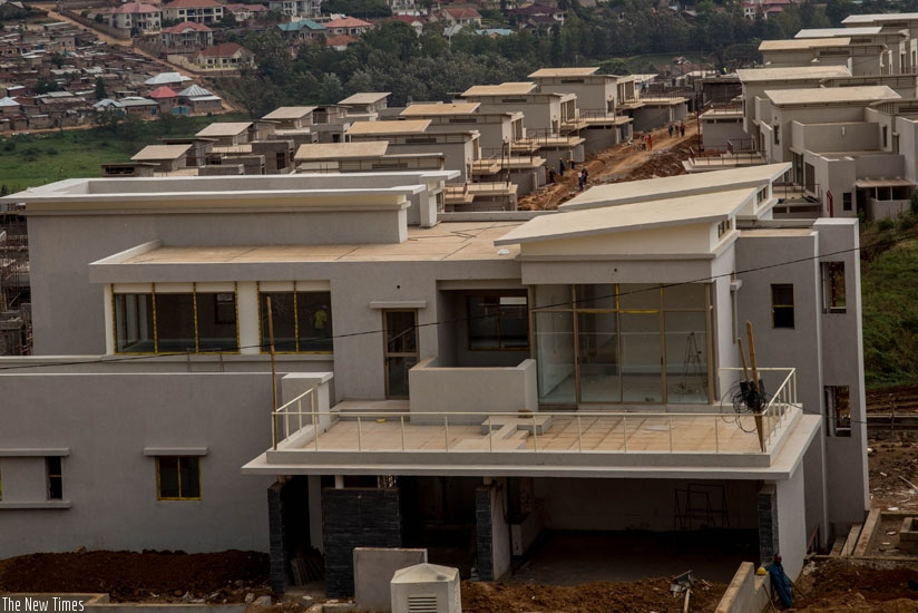 Educated youth are some of the best-placed Rwandans to help solve some of the challenges the country faces, including designing plans and innovations to deliver more affordable houses onto the market. (Peterson Tumwebaze)