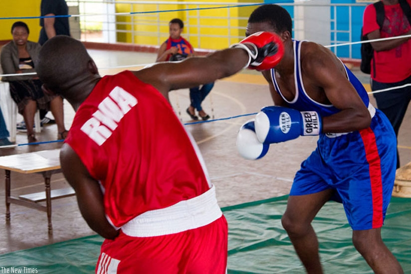 The local boxing federation didn't organize a single competition in 2015 due to internal struggle for power. (File)