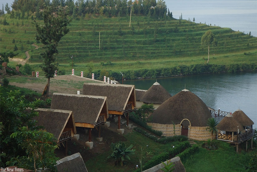 The cottages at Rwiza.