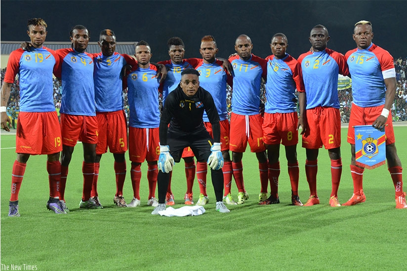 DR Congo are bidding to win a second CHAN title to add to their 2009 triumph. (Sam Ngendahimana)