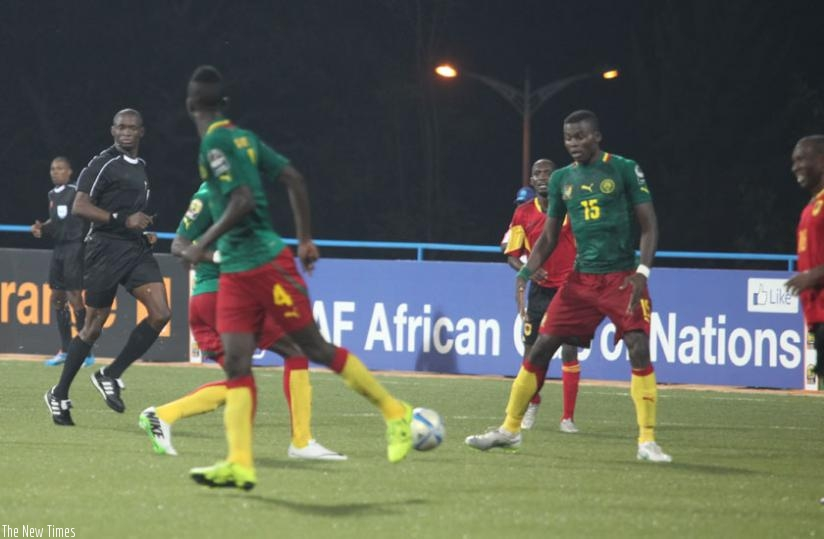 Cameroon are second  in the table on four points. (S. Ngendahimana)
