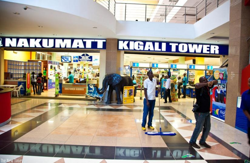 Many people can easily associate Nakumatt with an elephant; that's the strength of a brand and branding. (Timothy Kisambira)
