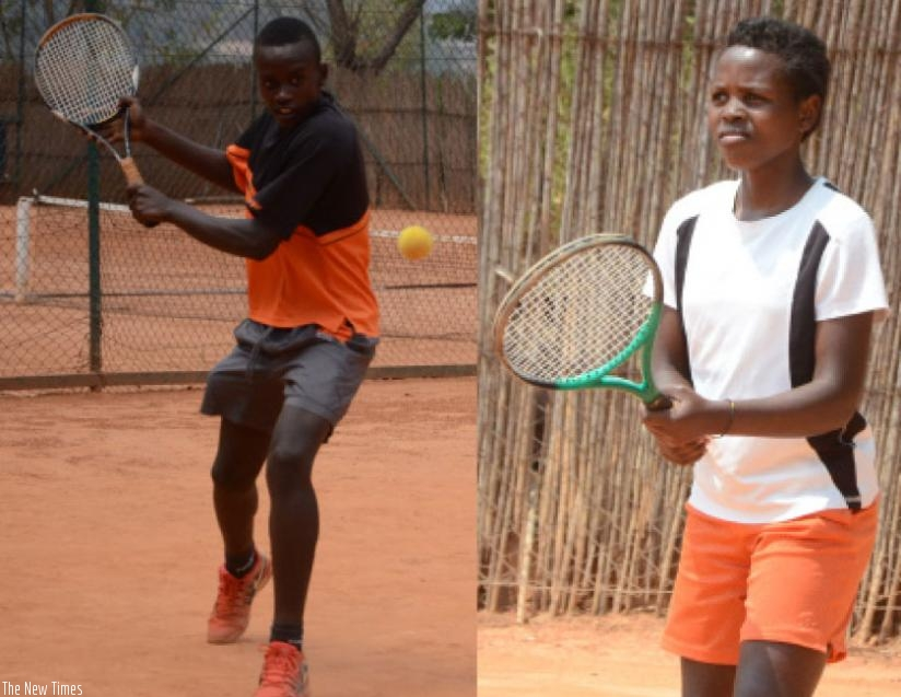 Fabrice Tuyishime will lead the boys' team while the girls will be led by Chantal Mutuyimana (R). (Sam Ngendahimana)