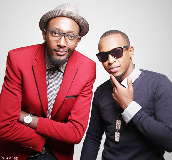 Pius and Tkay. Two4Real was formed in 2009. (Net photo)