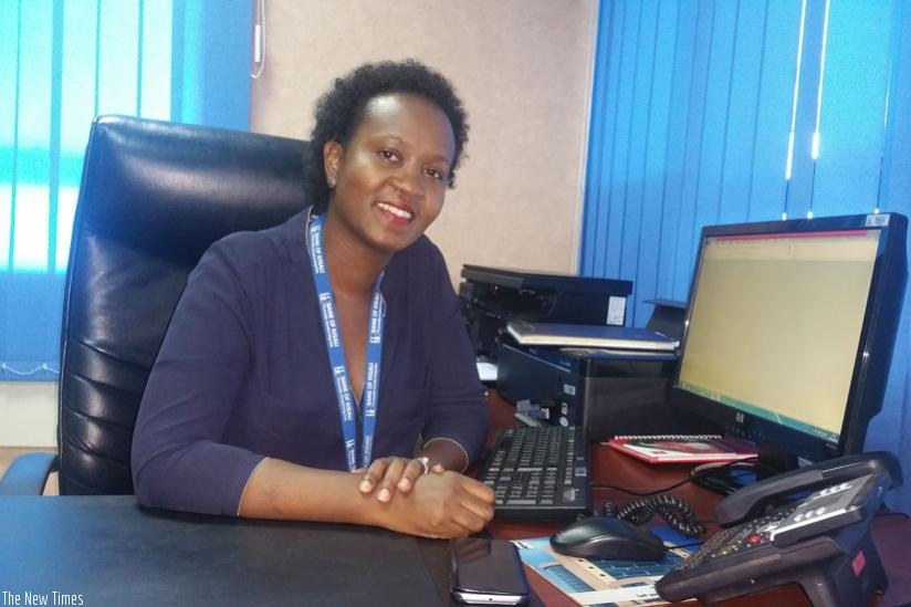 Dr. Shivon Byamukama, says Bank of Kigali offers limitless opportunities for women.